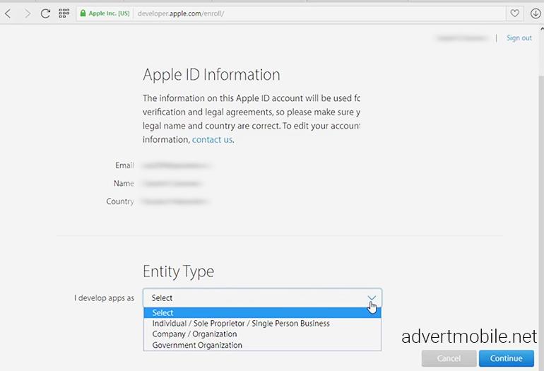 Как лучше регистрироваться - компания или разработчик?